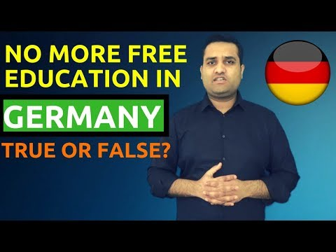 No More Tuition Free Universities in Germany?