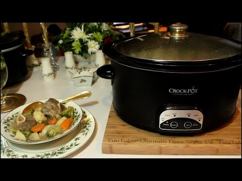 Slow Cooker Lamb Stew for Saturday Night Supper