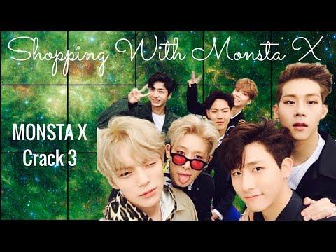 Shopping With Monsta X (Monsta X Crack 3)