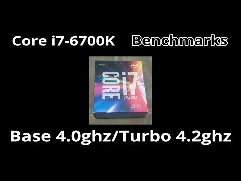 Intel Core i7-6700K Benchmarks - Cinebench/Geekbench/Render