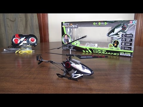 Sky Rover - Voice Command - Review and Flight