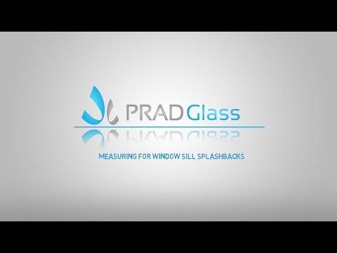 How to Measure Window Sill For a Glass Splashback - PradGlass