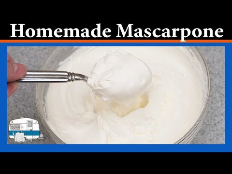 How to make your own Mascarpone Cheese (and save money)
