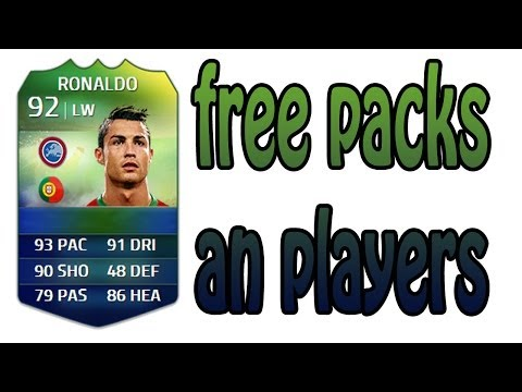 FREE PACKS & PLAYERS - FIFA 14 ULTIMATE TEAM WORLD CUP
