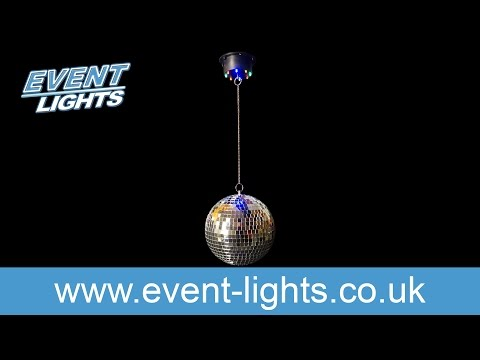 Hanging Disco ball with LEDs diam. 20cm