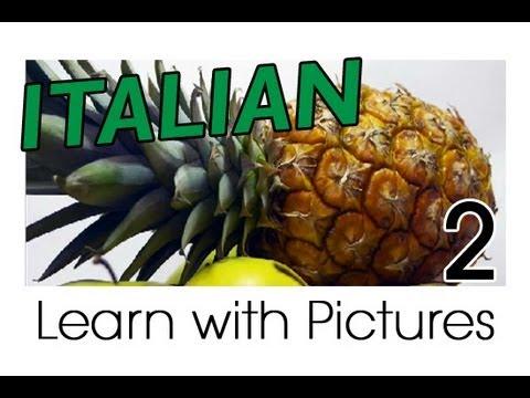 Learn Italian - Italian Fruit Vocabulary