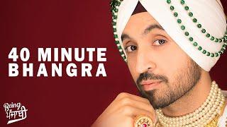 40 minute Bhangra Mashup - DJ Hans | Non Stop Punjabi Dance Songs | New Bhangra Megamix