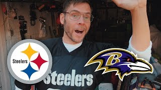 Dad Reacts to Steelers vs Ravens (Week 4)
