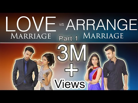 ARRANGED MARRIAGE VS LOVE MARRIAGE {PART 1} | The Bombay Trio | With English subtitles