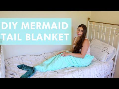 DIY Mermaid Tail Blanket   LDP