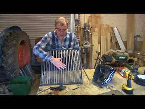 How to make a Garden Grill