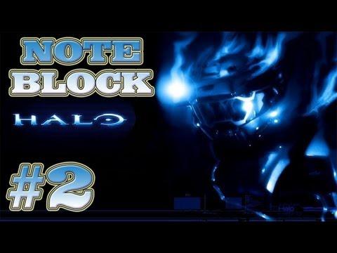 Minecraft Xbox 360 How to Build Halo Theme Part 2 (Note Blocks)