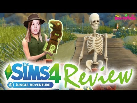 The Sims 4 Jungle Adventure Review!
