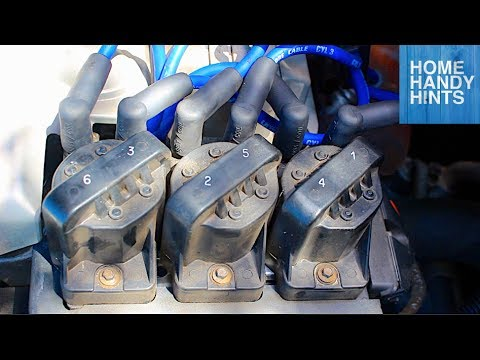 How to change ignition modules - coils pads DIY