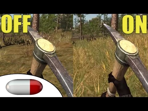 Rust Legacy - How to Turn Grass Off - Improves performance! - DrLoinstain