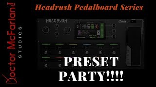 Headrush Pedalboard Series-No Change Scenes Explained - PakVim net
