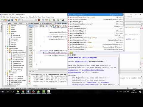 Ejemplo MVC en Java. Trabajando con AJAX y JSON