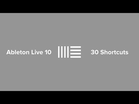 Ableton Live 10   30 Arrangement View Shortcuts