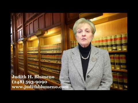 Michigan Divorce Attorney in Oakland County - Judith H. Blumeno