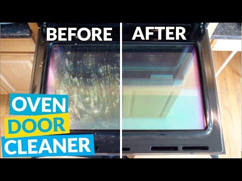 How To Clean Your Oven Door