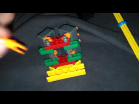 How to build a knex motor car with cool motor