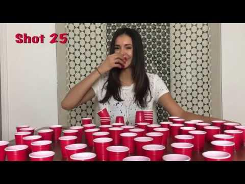 Nina Dobrev doing shots! [30,000 Subbers]