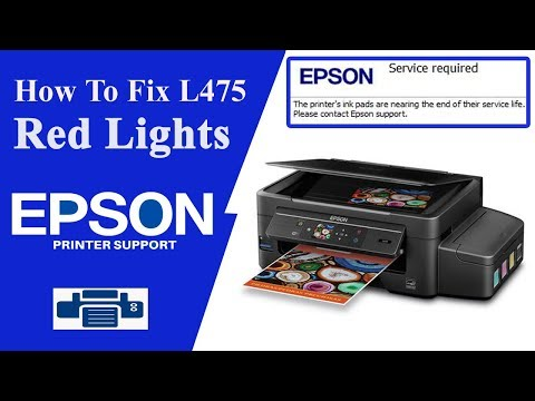 Epson L475 Resetter || Service Required || Epson Adjustment Program