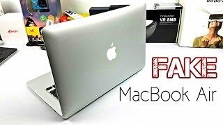 Fake Macbook Air - Late 2016 Model - Looks identical BEWARE!