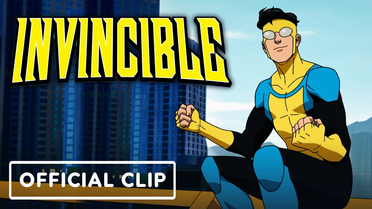 "Invincible - Official ""Baseball"" Clip (2021) Steven Yeun, J.K. Simmons"
