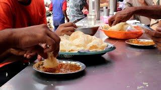 Best Halwa Puri of Dhamthal, Karachi | Inside the Kitchen | Pakistan Street Food
