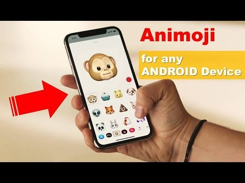 iPhone X Animoji for Android phone ! (No root)