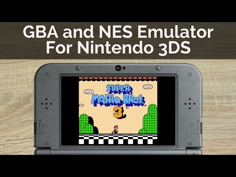How to Play GBA and NES Games on A Nintendo 3DS