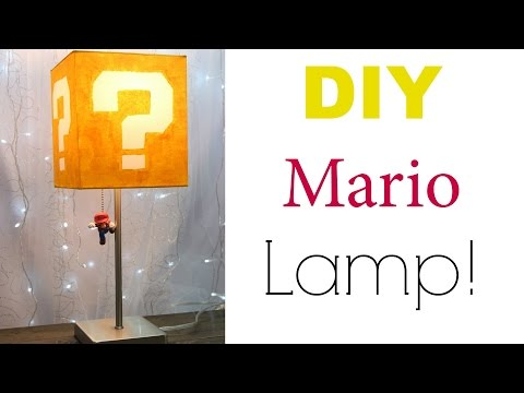 DIY Mario Lamp | Nerdy Crafts Ep. 13