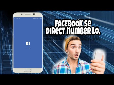 How to find a phone number in facebook lite.