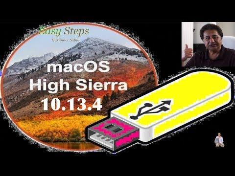 Easiest Way To Make Bootable macOS High Sierra USB Flash Drive | macOS High Sierra 10.13.4