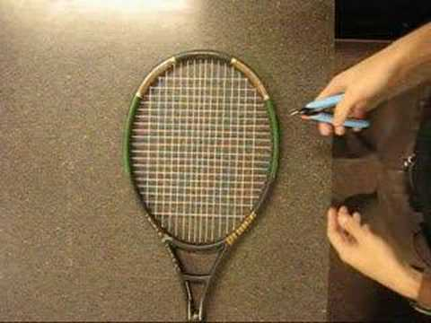 Cutting Strings out of a Racket