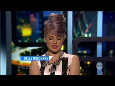 Kelly Osbourne interview on The Project (2013)