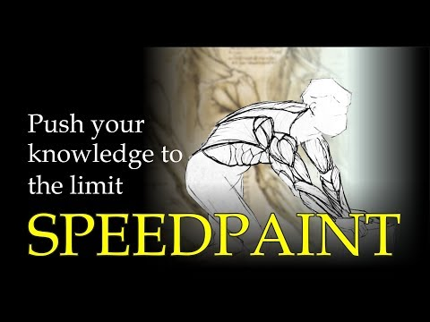 Speedpainting : How to Draw Louvre Art - From Louvre Art Master Class Drawing: master anatomy +PDF