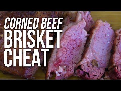 BBQ Corned Beef Brisket recipe