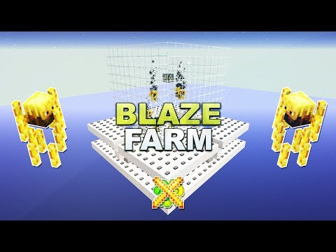 Minecraft - Blaze XP Farm - Tutorial 1.12