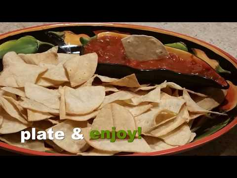 how to air fryer tortilla chips