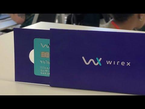Regresa la tarjeta visa sin contacto de Wirex. Envio gratis