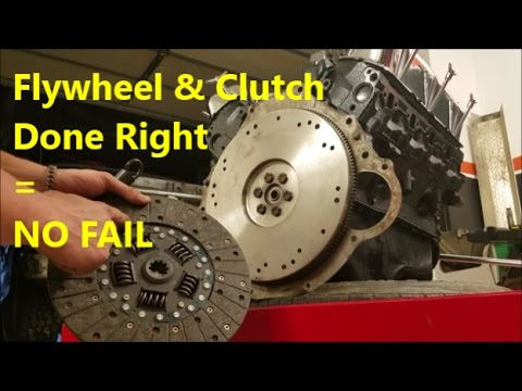Installing a New Clutch & Flywheel - How To: Demonstration/ Walk Through