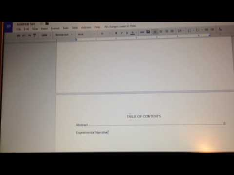 Tutorial - how to add a dotted line on google docs