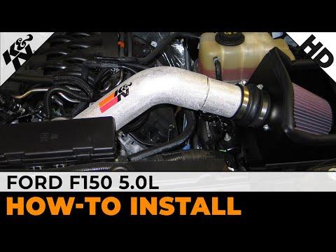 2011, 2012, 2013 & 2014 Ford F150 5.0L Air Intake Installation