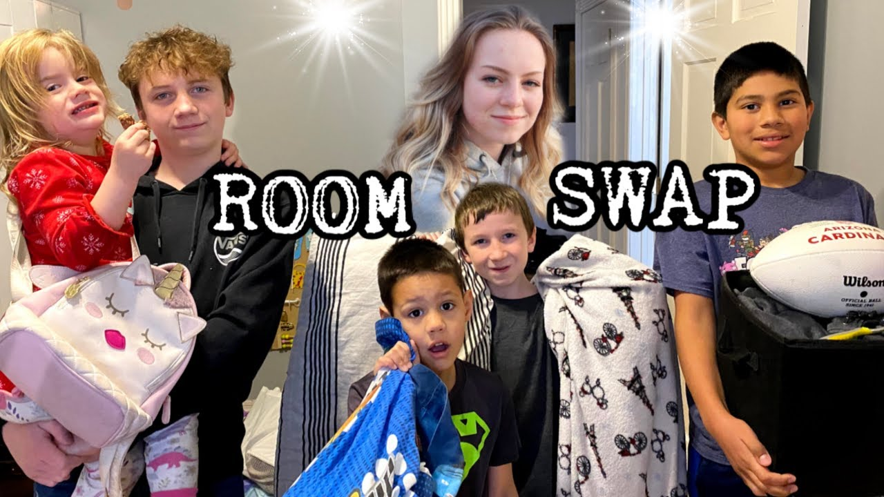 WE HAVE TO MOVE ROOMS | ROOM SWAP!