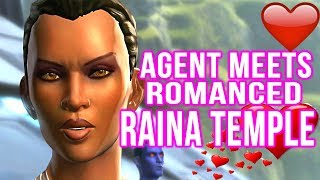 Imperial Agent Meets Romanced Raina Temple Again (swtor; A Traitor Among The Chiss )