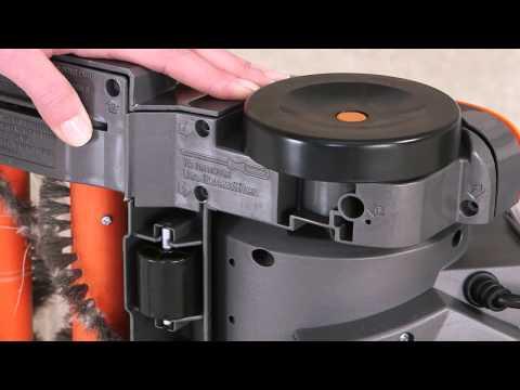 Instructional Guide...Vax Dual Power: Part 7 - Brushbar & Belt Care