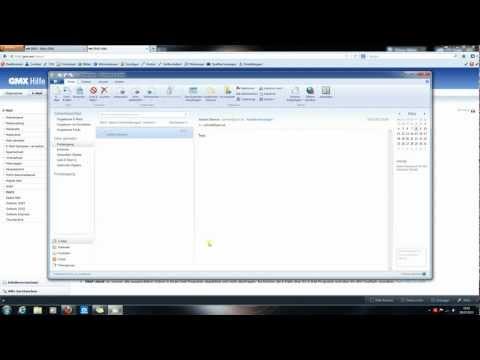 Gmx Konto auf Windows LiveMail einrichten