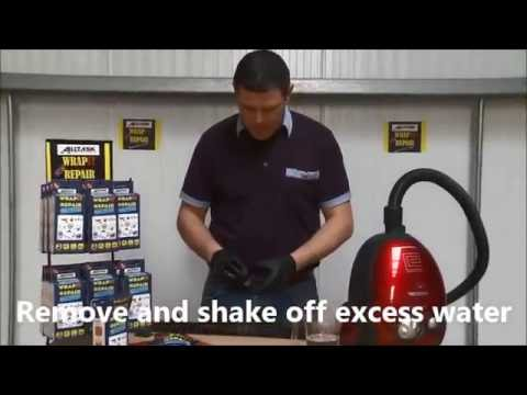 How to repair any split ducted vacuum hose